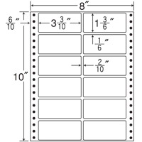 東洋印刷 ナナフォームラベル MT8C 12面 500折 東洋印刷 ナナフォームラベル MT8C 12面 500折(10セット)