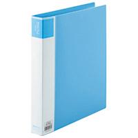 ジョインテックス 再生PPリングファイルA4S D009J-10BL青10冊(10セット)