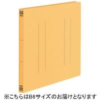 プラス フラットファイル縦罫B6E No.052NT YL 10冊(10セット)