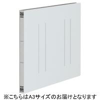 プラス フラットファイル縦罫A3E No.002NT GY 10冊(10セット)