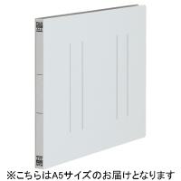 プラス フラットファイル縦罫A5E No.042NT GY 10冊(10セット)