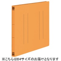 プラス フラットファイル縦罫B4E No.012NT OR 10冊(10セット)