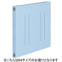 プラス フラットファイル縦罫B4E No012NT RBL 10冊(10セット)