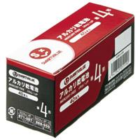 ジョインテックス アルカリ乾電池 単4×40本 N224J-4P-10(10セット)