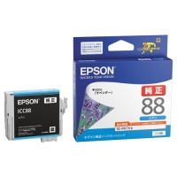 エプソン インクカートリッジ ICC88 シアン(10セット)