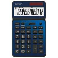 シャープエレクトロニクスマーケティング カラー・デザイン電卓 EL-VN82-AX(10セット)
