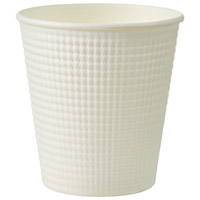 250 ml of sun nap emboss white cups 50 case