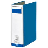 ジョインテックス パイプ式ファイル片開き青1冊 D008J-BL(10セット)