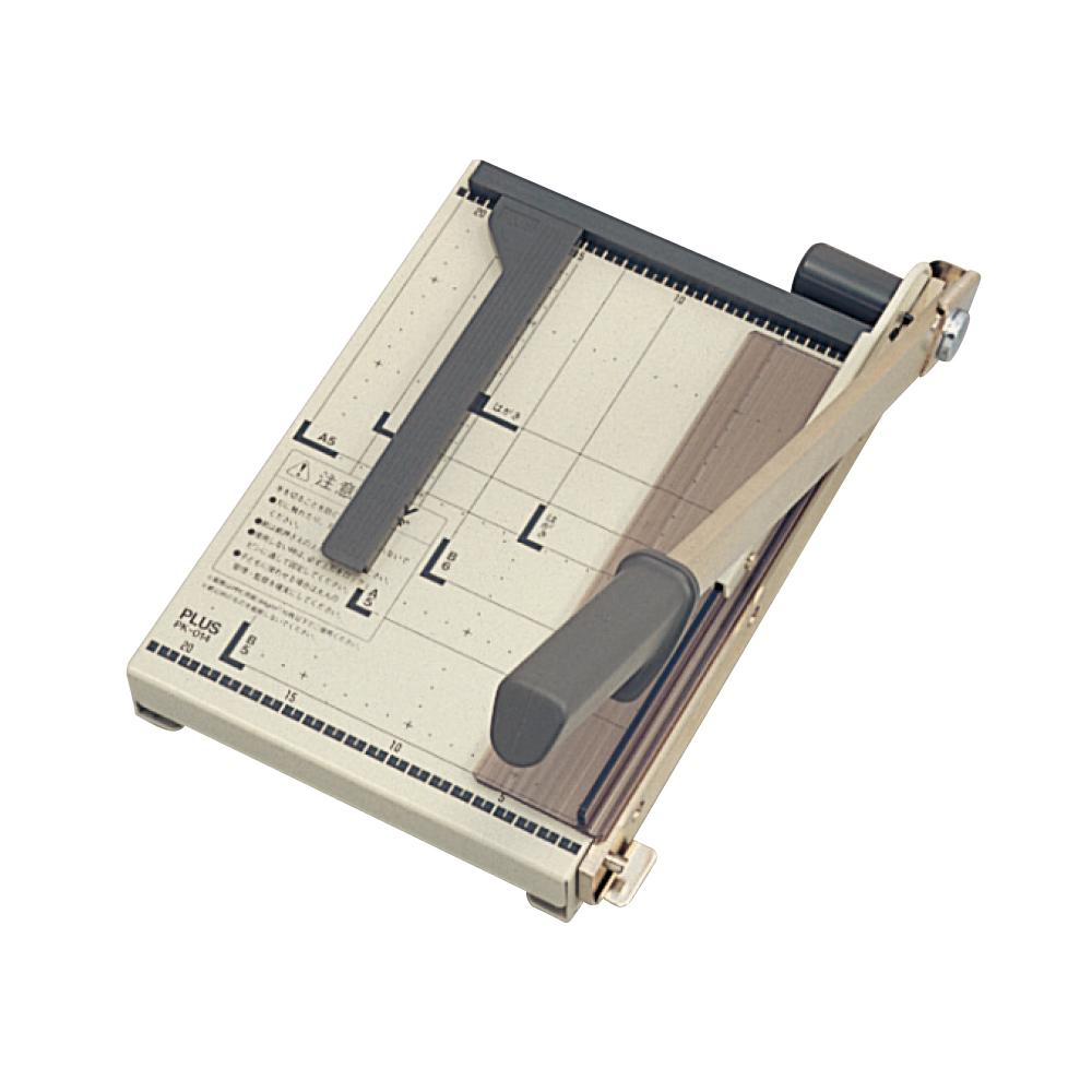 プラス ペーパーカッター PK-014 B5 グレー(5セット)