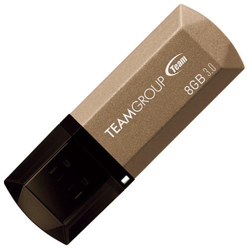 TEAM USB3.0キャップ式USBメモリ8GB TC15538GD014571381808142(10セット)