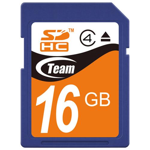 TEAM SDHCカード 16GB TG016G0SD24X 4580209531469(10セット)