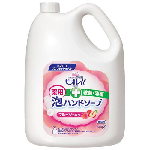 花王 ビオレU泡ハンドソープ フルーツ 業務用 4L4901301511508(10セット)