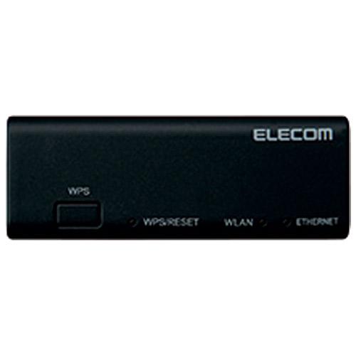 エレコム 無線LANポータブルルーターWRH-300BK3-S 4953103493971(10セット)