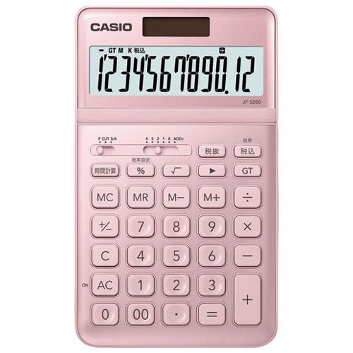 カシオ計算機 デザイン電卓 ピンク JF-S200-PK-N 4549526604263(10セット)