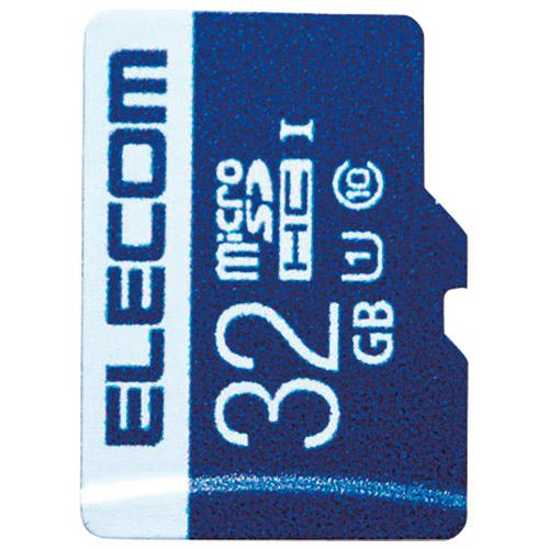 エレコム microSDHCカード 32GB MF-MS032GU11R 4953103320116(5セット)
