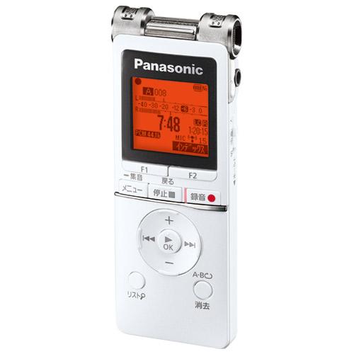 Panasonic ICレコーダー RR-XS470-W 4549980002209(10セット)