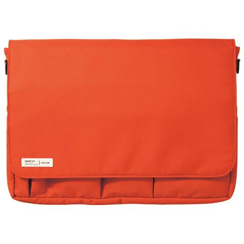 LIHITLAB キャリングポーチ A4 A-7577-4 オレンジ 4903419816179(10セット)