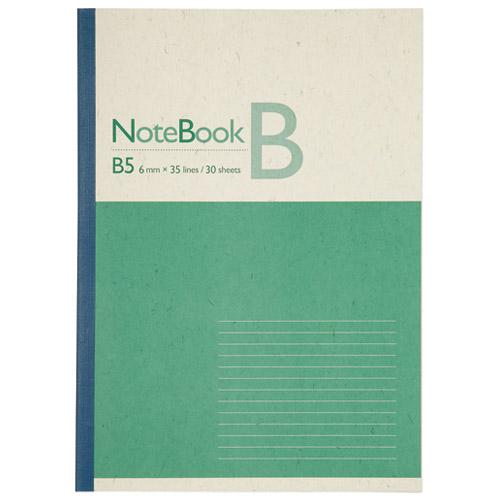 ジョインテックス 再生紙ノート セミB5 B罫10冊 P042J-10(10セット)