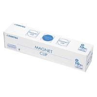 ジョインテックス マグネットクリップ大 青 10個 B040J-B10(10セット)