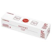 ジョインテックス マグネットクリップ中 赤 10個 B145J-R10(10セット)