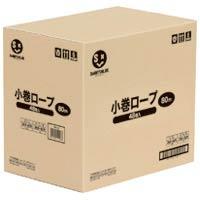 ジョインテックス ひも 小巻ロープ5mm×80m白48巻 B175J-48(10セット)