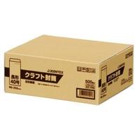 ジョインテックス クラフト封筒 長40 500枚 P283J-N40(10セット)