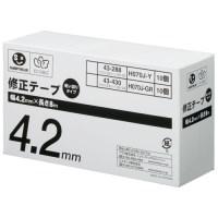 ジョインテックス 修正テープ 4.2mm×8m 20個 H070J-Y20(10セット)
