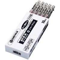 ジョインテックス 2色ボールペン+シャープペン10本 H076J-10(10セット)