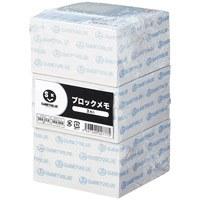 ジョインテックス ブロックメモ85×85mm500枚×3冊 P255J-3(10セット)