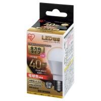アイリスオーヤマ LED電球40W 全方向 電球 LDA4L-G-E17/W-4T54967576293532(10セット)
