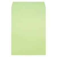 ムトウユニパック 再生カラー封筒511719120角2ウグイス100P 4522238009571(10セット)