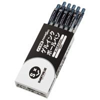 スマートバリュー ゲルノックボールペン黒10本 H043J-BK-10(10セット)