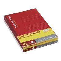 プラス ノートブック NO-003AS-10P B5 A罫 10冊(10セット)