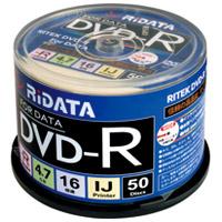 Ri-JAPAN データ用DVD-R 50枚 D-R16X47G.PW50SP B(10セット)