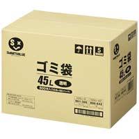ジョインテックス ゴミ袋 LDD 透明 45L 600枚 N208J-45P(10セット)