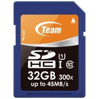 TEAM SDHCカード 32GB TG032G0SD3FT(10セット)