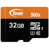 TEAM microSDHCカード 32GB TUSDH32GUHS03(10セット)