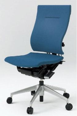 オフィスチェア スピーナチェア ITOKI イトーキ クロスバック 肘なし アルミミラー