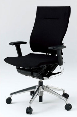 オフィスチェア スピーナチェア ITOKI イトーキ クロスバック アジャスタブル肘付 アルミミラー(5セット)
