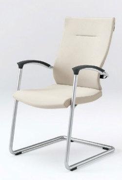 オフィスチェア スピーナチェア ITOKI イトーキ キャンティレバー脚 クロスタイプ シルバーメタリック(5セット)