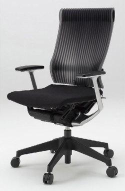 オフィスチェア スピーナチェア ITOKI イトーキ エラストマーバック T型肘付(5セット)