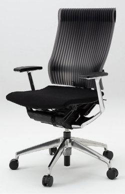 オフィスチェア スピーナチェア ITOKI イトーキ エラストマーバック T型肘付 シルバーメタリック(5セット)