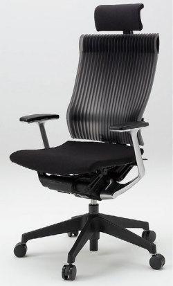 オフィスチェア スピーナチェア ITOKI イトーキ エクストラハイバック エラストマーバック T型肘付 ブラック ブラック