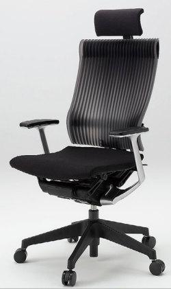 オフィスチェア スピーナチェア ITOKI イトーキ エクストラハイバック エラストマーバック ハンガー付 シルバーメタリック ブラック(5セット)