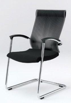 オフィスチェア スピーナチェア ITOKI イトーキ キャンティレバー脚 クロスタイプ エラストマーバック シルバーメタリック(5セット)