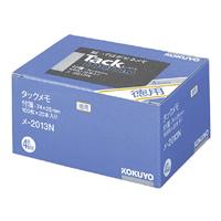 KOKUYO(コクヨ)タックメモ徳用 74×25mm付箋 100枚×20本 4色メ-2013N (10セット)