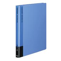 KOKUYO(コクヨ)クリヤーブック替紙式A4縦30穴12枚ポケット 青ラ-720B (10セット)