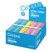 KOKUYO(コクヨ)単語カード中詰め合わせ 青・ピンク各12冊 黄6冊 計30冊タン-101ツメ (10セット)