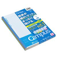 "KOKUYO / learning campus chart ruled line 7 no F3CAKX5/ ""(five sets)"