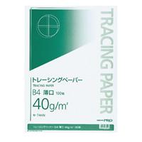 KOKUYO(コクヨ)ナチュラルトレーシングペーパー薄口B4 100枚セ-T44N (10セット)